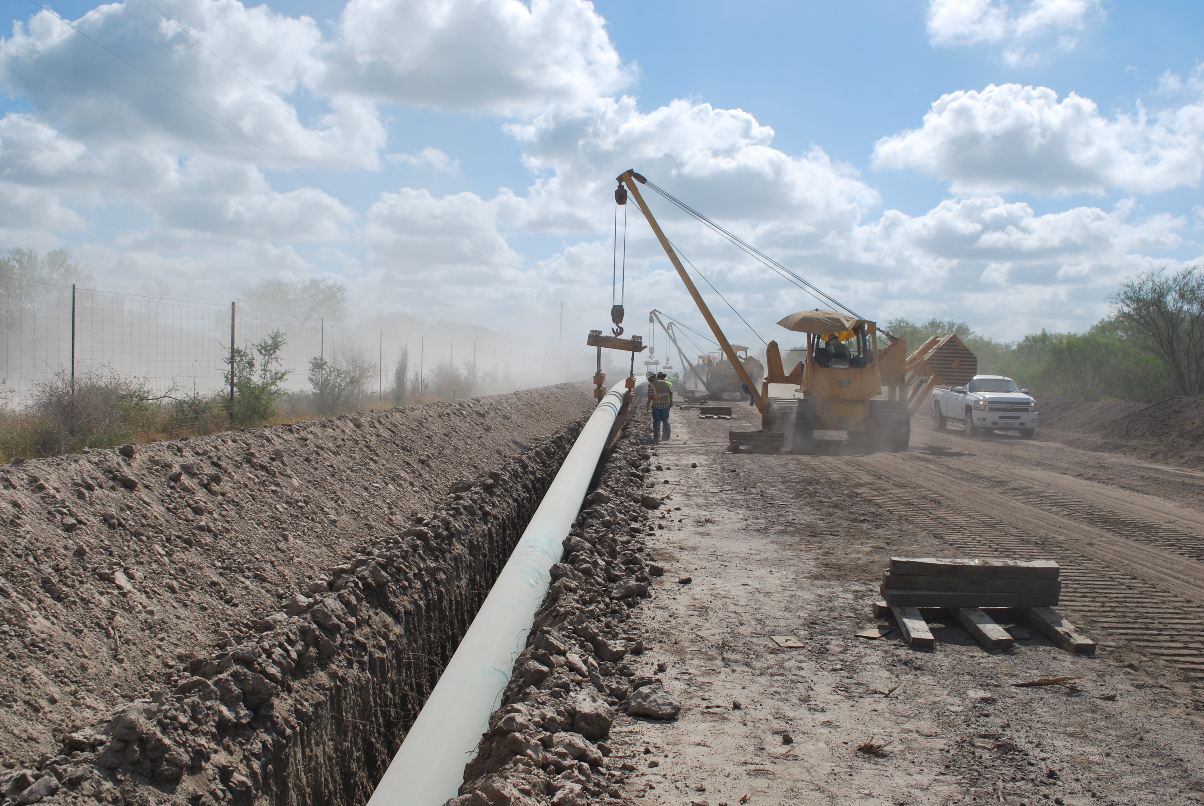 Pipeline Construction 6