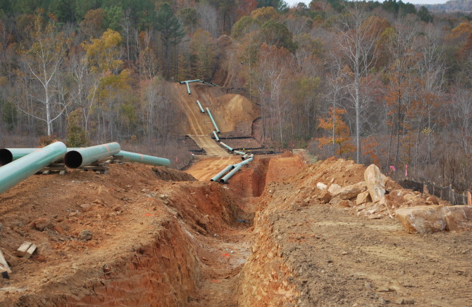 Pipeline Construction 4
